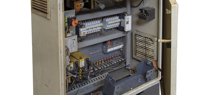 Quadro elettrico macchina - Electrical cabinet