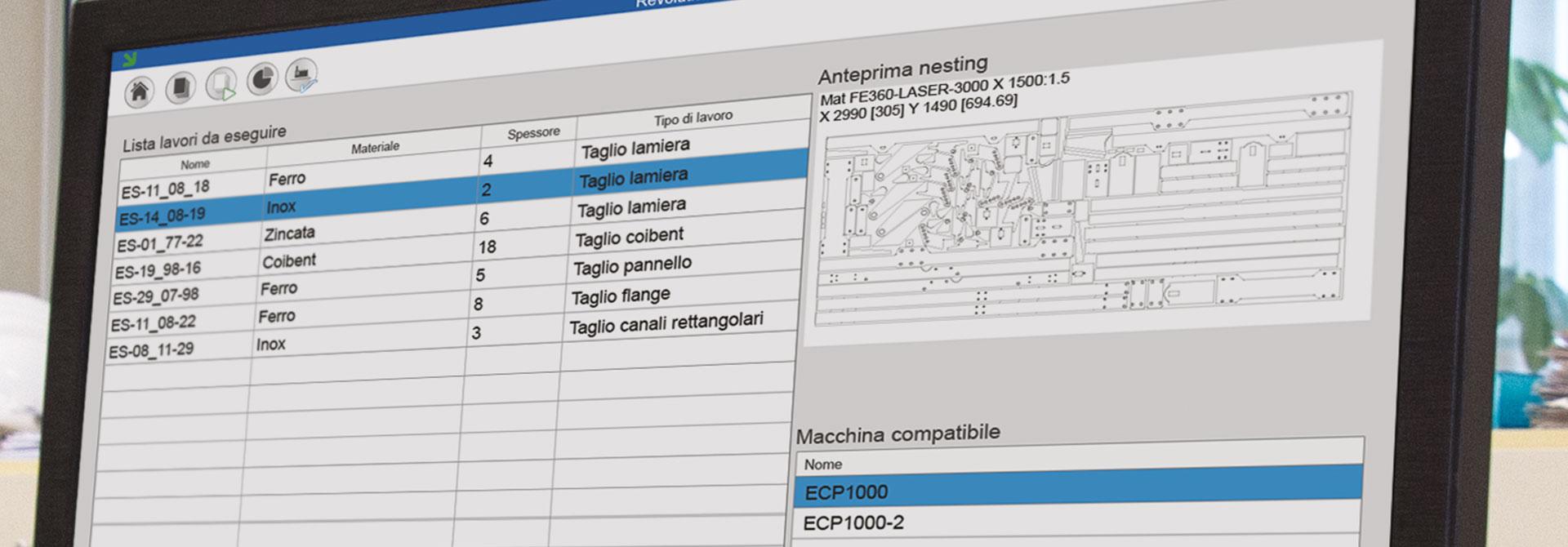image slide of program - immagine slide del programma